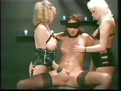 blindfolded slave used vintage bdsm