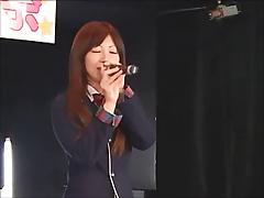 Japanese pop singer fucks her audience (part 2)