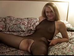 Hot blonde gets creampie from blacks vol2