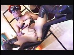Kinky ladies, leather & hard cocks #4