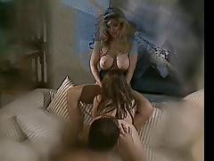 Hermaphrodite Angela Summer Plays With Couple
