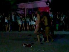 Striptease in AAC Bar- Coimbra, Portugal. (extended)
