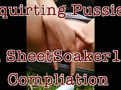 Squirting Pussies Compilation