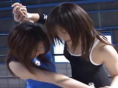 Japanese Babes Wrestling