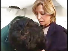 French Big-titted Milf Takes Anal From A Young Man