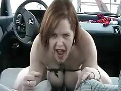 Hot Ride on a Gearstick