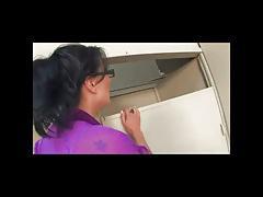 Brunette Teacher Fucks Her Difficult Student BVR