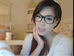 korean teen on webcam
