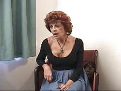 Horny Old Granny Invited For A Fuck !