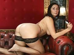 Paige on Sofa on BS