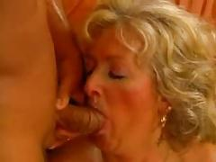 Busty Anal Granny