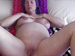 Pregnant shower