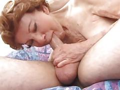 Great Granny Gigi Loves Younger Cock