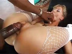 blonde euro slut fucked by big black cock