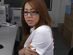 Fornication Nasty Lady boss and office