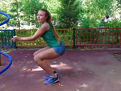 russian girl sexy tewrk dance
