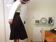 Windy Skirt Office Girl