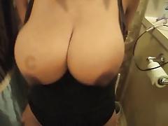 Ebony huge boobs amateur