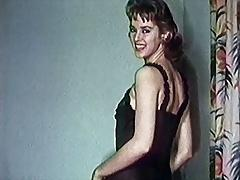 LOVE ME - vintage stockings striptease erotic music video