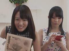 Japanese Lesbians (Men paying to watch girls make love)