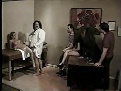 Ron Jeremy playing Doctor with a blond