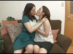 Japanese Lesbians (Two former colleagues reunite with love)