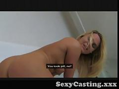 Casting - Blonde, tanned and craving big cock