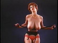 WASTING MY TIME - vintage nylon striptease stockings