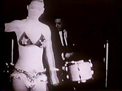 CANDY DANCE #1 - vintage striptease part one