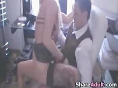 Office girl fuck scene