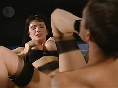 British MILF Angie George foot fetish hardcore