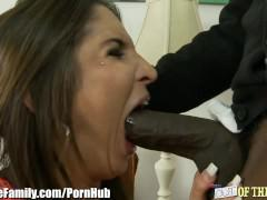 Tight Teen Fucks Her Black Stepdaddy
