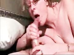 Cumming deep in her throat