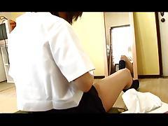 FUJITANI Namy shaving pubic hair