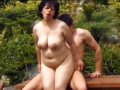 Mature woman and young man - 58