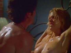Hudson Leick in a vocal and energetic sex scene