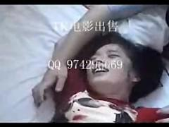 Chinese girl tickling
