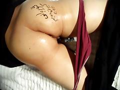 sexy hijab twerking ass and pussy