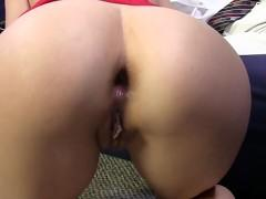 Sexy student extreme anal