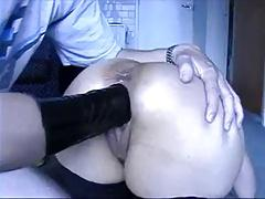 homemade pussy fisting  by man - amateur