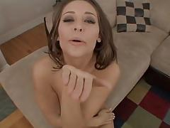 Gracie Awesome Blowbang then POV Fuck