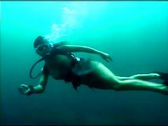 Scuba Sex On The Reef - Part 1
