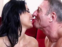Pornstar invites her friend