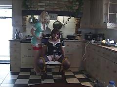 Nurse Madame C teases Angelica pt 1