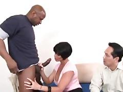 Busty Wife, Asian Husband and Dr. BBc