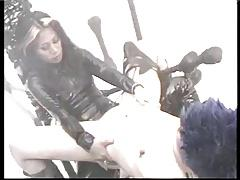 Dominatrix Asian fuking a girl